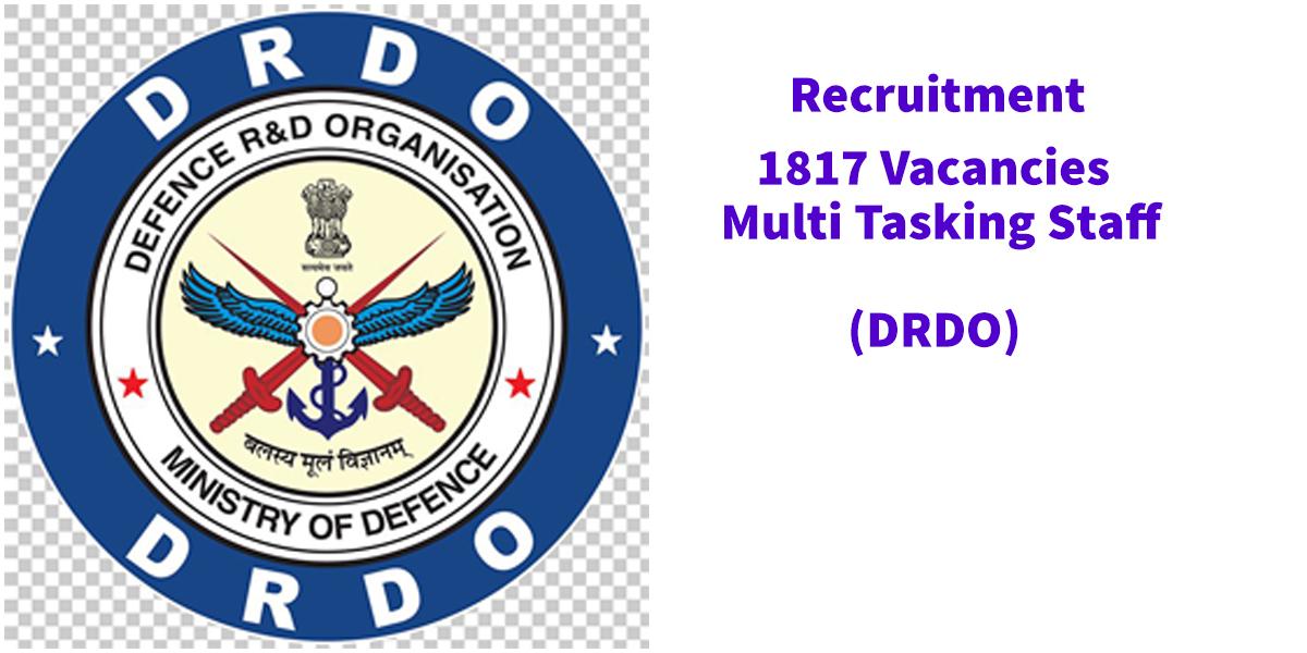 DRDO Multi Tasking MTS Online Form Recruitment 2019