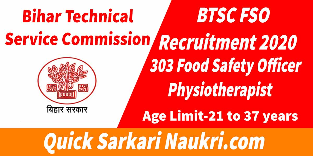 Btsc Bihar Recruitment 2020
